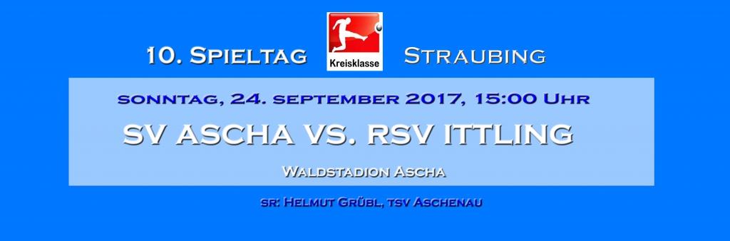 A-Junioren: SV Ascha-FC Moos