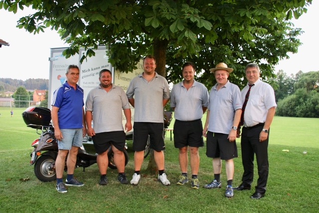 Eisstock Siegerehrung- Sportfest 2017