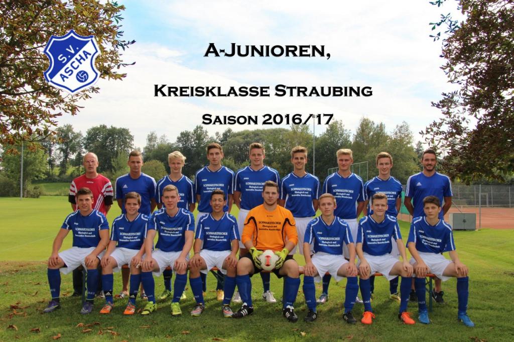 Mannschaft A-Junioren 2016-17 Kopie