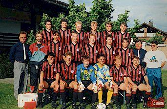 1. Mannscahft Meister B-Klasse SR 1992-93