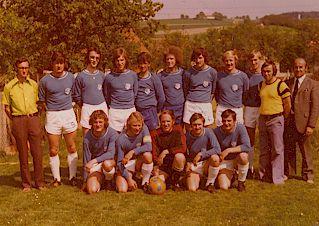 1.Mannschaft Meister 1973-74