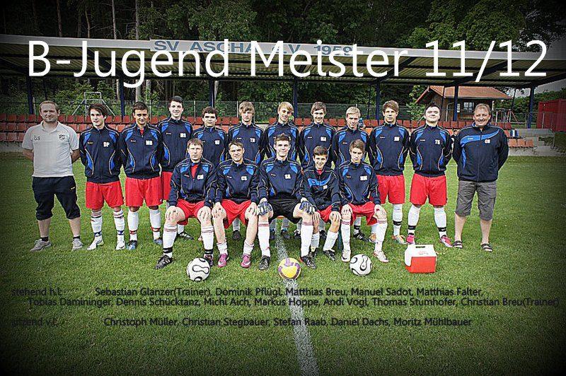 B-Jugend Meister 2011-12