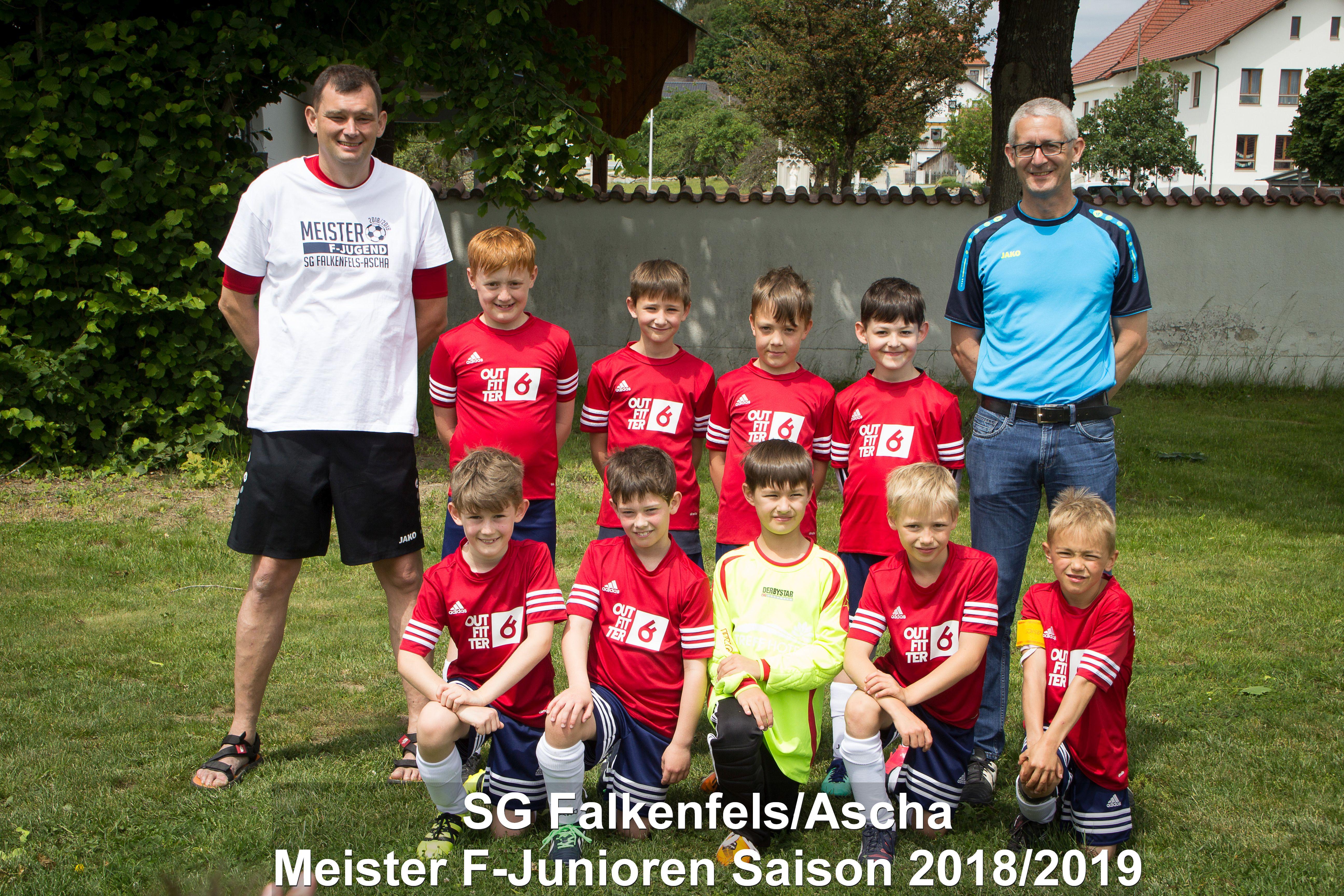SG Falkenfels-Ascha F-Junioren 2018-2019