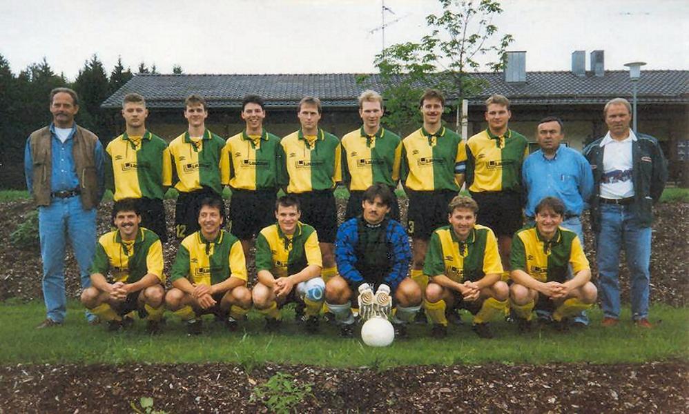 SV Ascha 1. Mannschaft 1996 -97