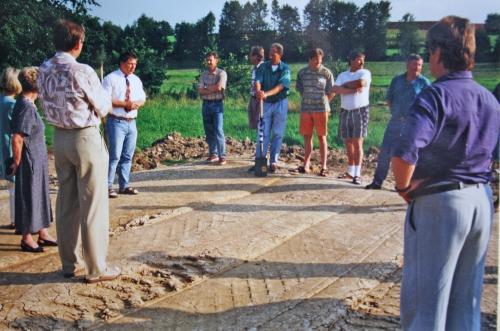 Spatenstich zum Hauptspielfeld am 31.07.1996 005