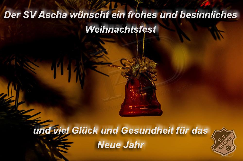 Frohe Weihnachten Besinnlich.Sv Ascha Der Sportverein Ascha Wunscht Frohe Und