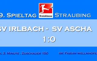 Spiel SV Irlbach- SV Ascha 2017-18 Kopie