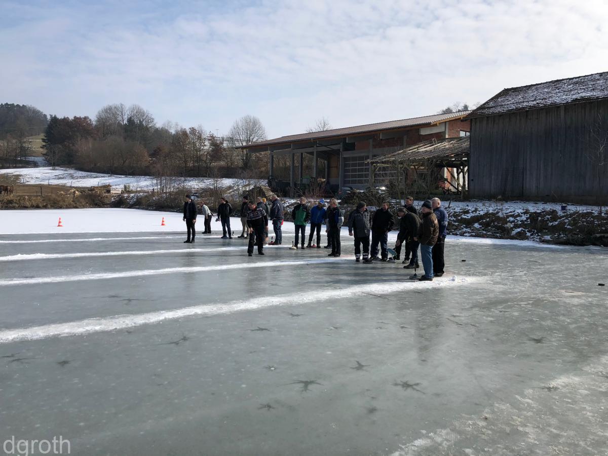 Eisstockturnier 2018