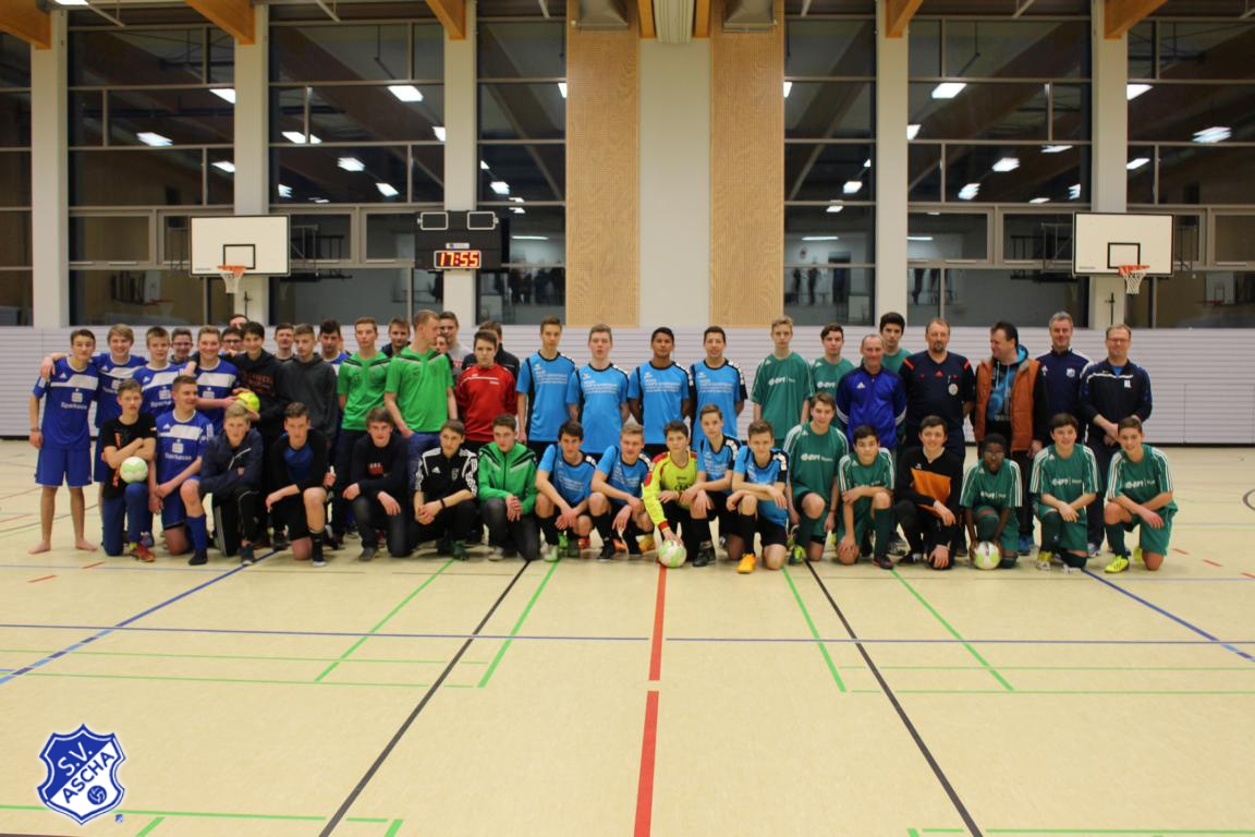 1.Aschinger Futsal-Cup der Junioren Feb.2016