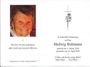 Hedwig Bohmann