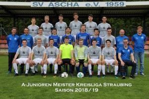 A-Junioren SG SV Ascha, Mitterfels, Haselbach