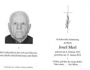 Josef Merl sen.